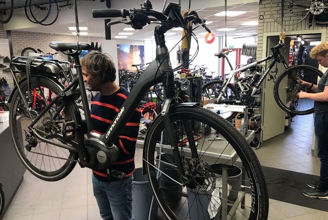 fietsenmaker Westland.