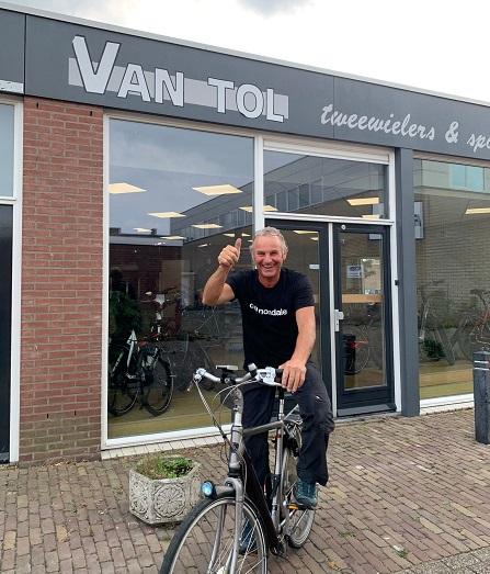 Jan fietst zaterdag voor het laatst naar z'n werk